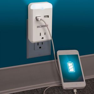 USB Outlet Nightlight