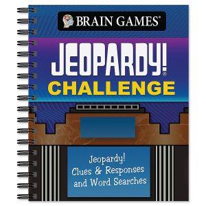 Jeopardy Challenge Book Brain Games®