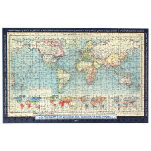 Your Year, Your World Personalized Map Puzzle