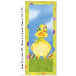 Easter Egg Hat Oversized Address Labels