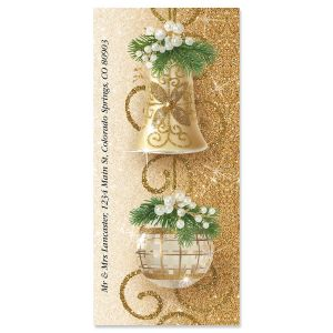 Holiday Patina Oversized Address Labels