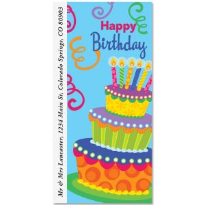Big Cake Oversized Address Labels