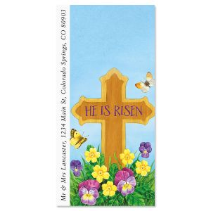 Easter Cross Oversized Address Labels