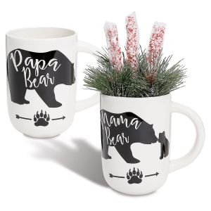 Mama and Papa Bear Mugs