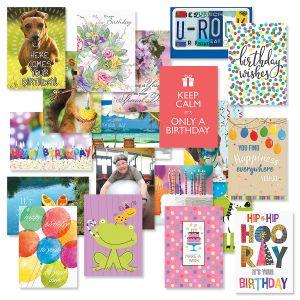 Festive Mega Birthday Greeting Cards Value Pack