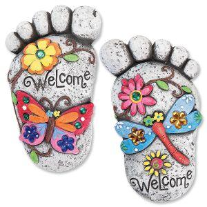 Footprint Stones