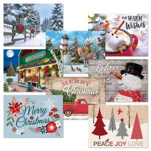 Believe in the Magic of Christmas Cards Value Pack