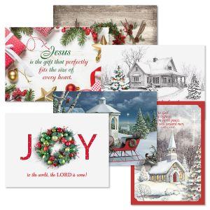 Faith Christmas Card Value Pack