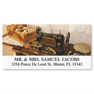 Sewing  Deluxe Address Labels