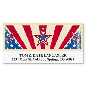 True Blue Deluxe Address Labels