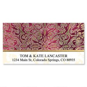 Marquetry Deluxe Address Labels