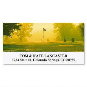 Back Nine Deluxe Address Labels