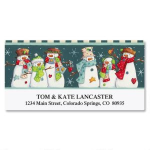 Snow Squad Deluxe Address Labels