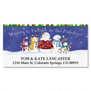 Bright Bunch Deluxe Address Labels