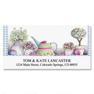 Topiary Garden Deluxe Address Labels