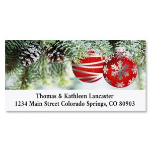 Ornament Wish Deluxe Christmas Address Labels