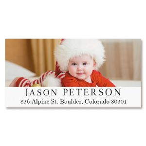 Deluxe Photo Personalized Address Labels