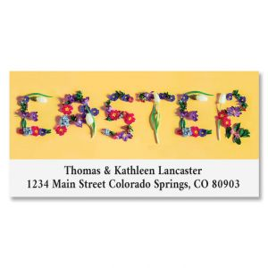 Easter Deluxe Address Label
