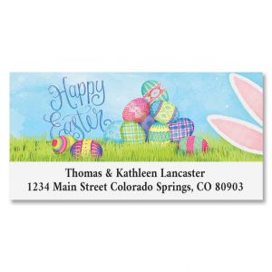 Sneaky Bunny Deluxe Address Labels