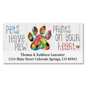 Pet Love Deluxe Address Labels
