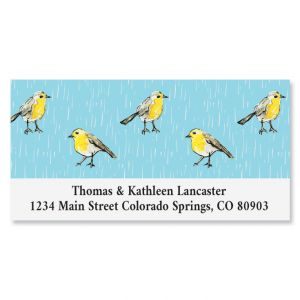Goldfinch Parade Deluxe Address Labels