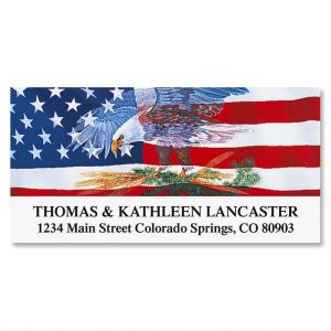 Shop Patriotic Address Labels