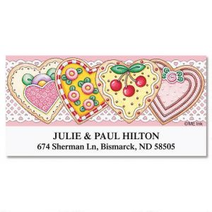 Sweetheart Treats Deluxe Address Labels