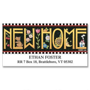 New Home Deluxe Address Labels