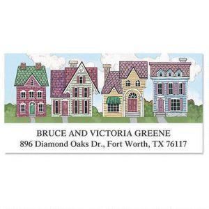 New Neighborhood Deluxe Address Labels