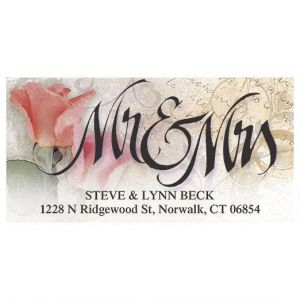Mr & Mrs Deluxe Address Labels