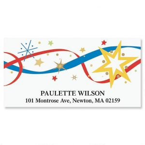 4th of July Deluxe Address Labels