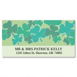 Shamrock Dance Deluxe Address Labels