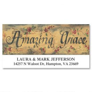 Amazing Grace Deluxe Address Labels