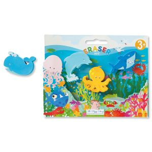 Under the Sea Set of Erasers