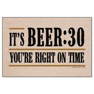Beer-Thirty Doormat