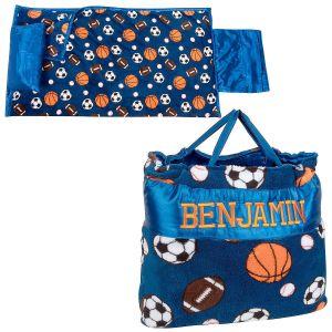 Personalized Sports Print Napbag