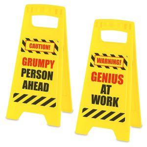 Fair Warning Signs
