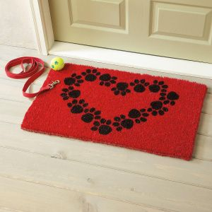 Heart and Soles Pet Doormat