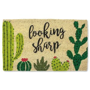 Looking Sharp Coir Doormat