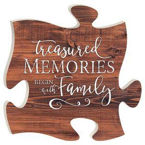 Treasured Memories Plaque