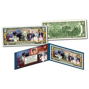 Royal Family 2 Dollar Bill