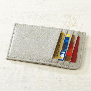 Grey Scan-Safe Card Case