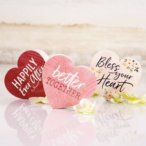 Decorative Wooden Hearts