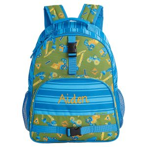 Personalized Construction Backpack by Stephen Joseph®
