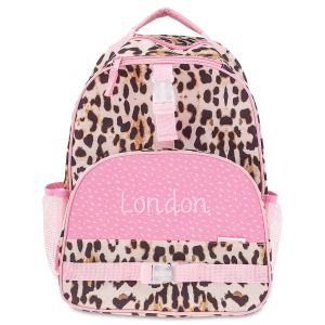 All Over Leopard Print Personalized Backpack by Stephen Joseph®