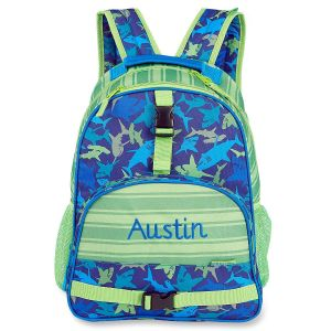 Personalized Shark Backpack by Stephen Joseph®