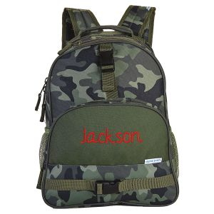 Camo Personalized Backpack by Stephen Joseph®