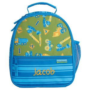 Personalized Construction Lunch Bag by Stephen Joseph®