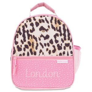 All Over Leopard Print Personalized Lunch Bag by Stephen Joseph®