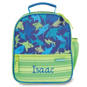 Personalized Shark Lunch Bag by Stephen Joseph®